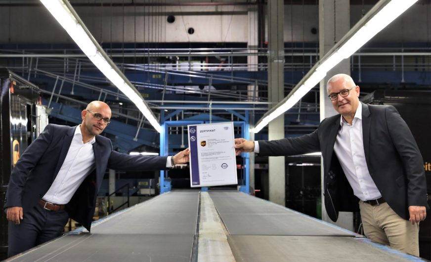 UPS Österreich meistert die GDP Zertifizierung