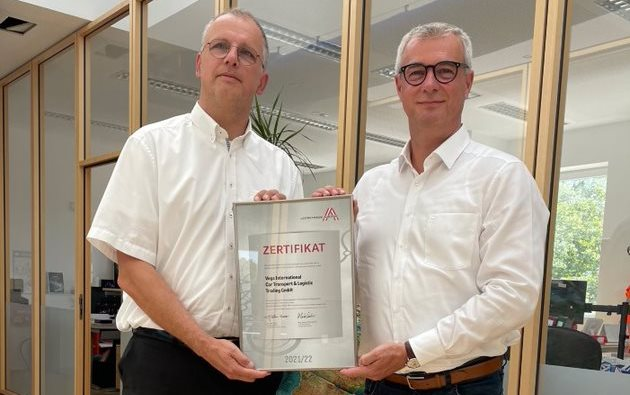 Erneut Leitbetriebe Austria-Zertifikat für Vega International