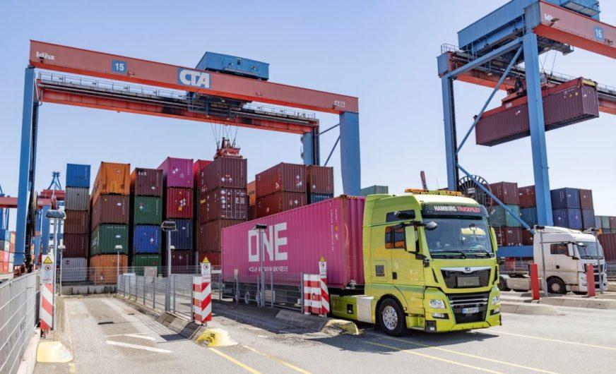 MAN und HHLA: Logistik 4.0 im Hamburger Hafen