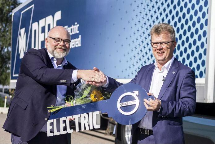 Rekord-Auftrag: DFDS bestellt 100 Volvo FM Electric