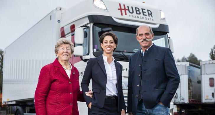 Generationswechsel bei Huber Transporte in Hard