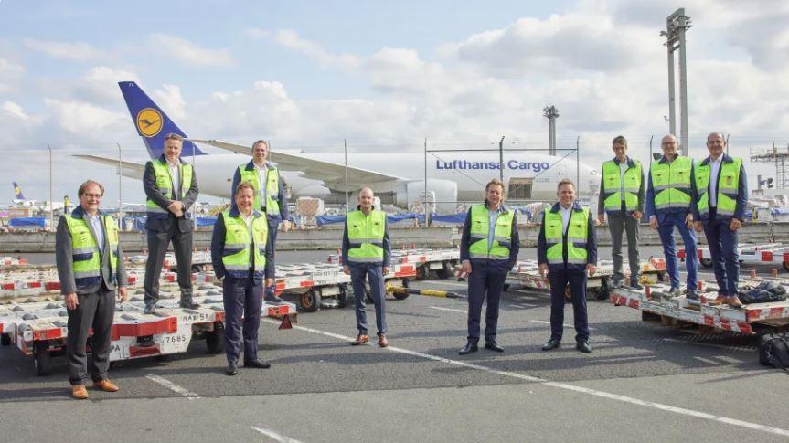 Lufthansa Cargo verbessert Frachtfluss am Drehkreuz Frankfurt